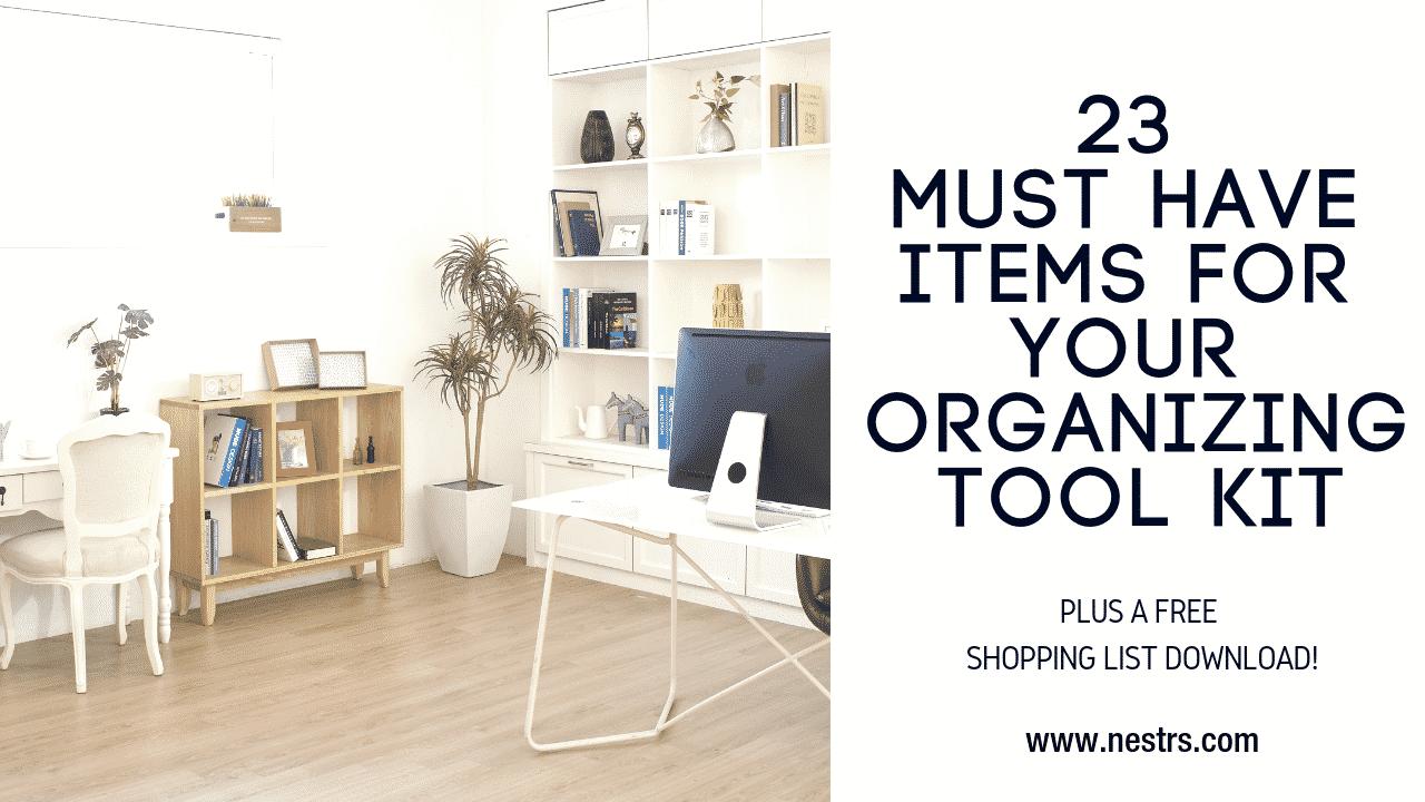 23 tools every organizer needs