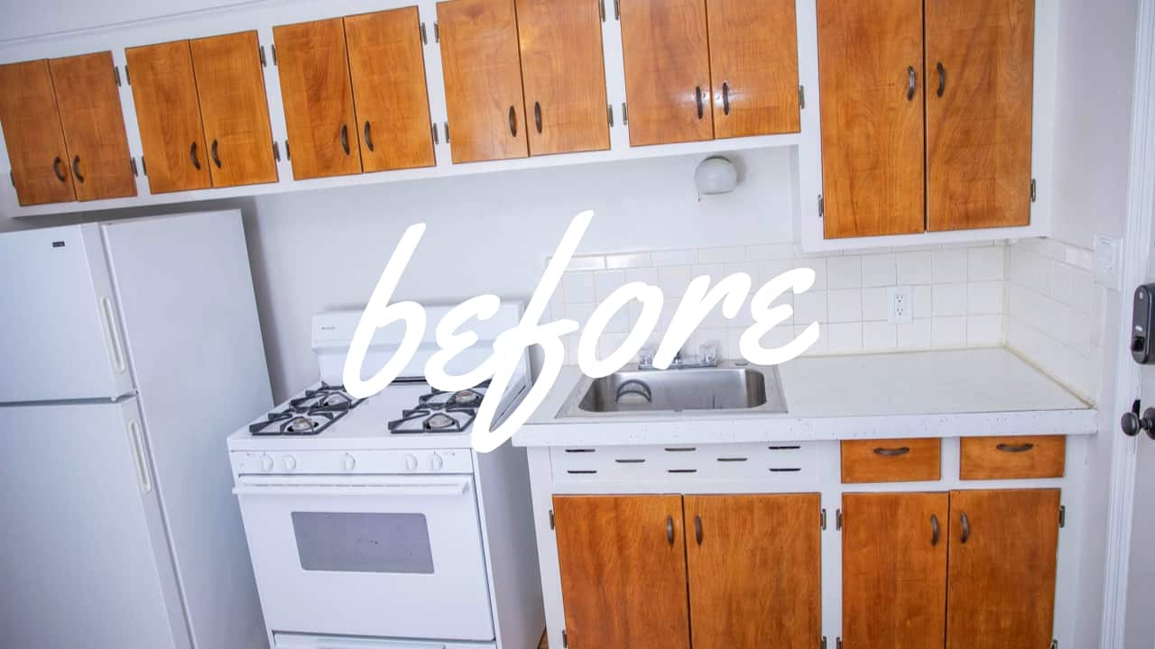 Before_Budget_Friendly_Kitchen_Update