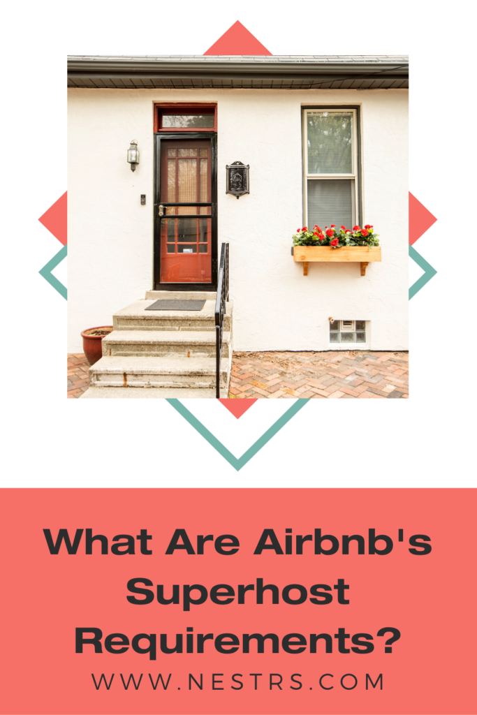what are Airbnb's superhost requirements?