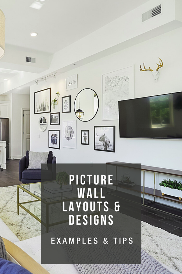picture wall layout and design