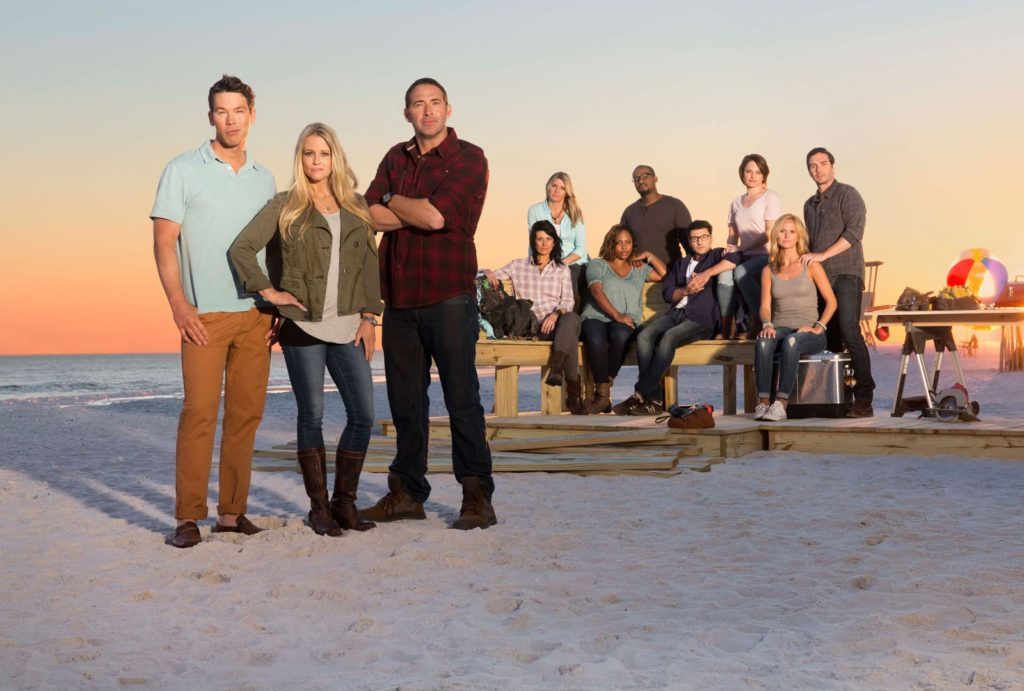 2015 HGTV Beach Flip contestants