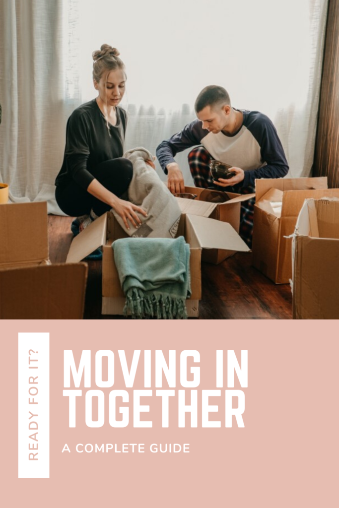 a couple unpacking