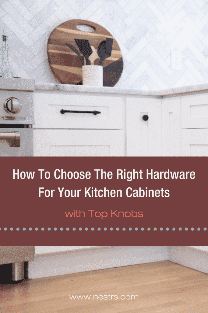 How to chose the right hardware for your kitchen cabinets