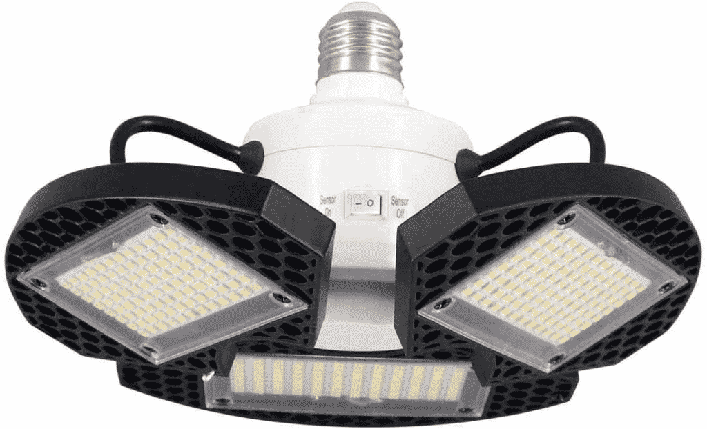 LED Motion Activated Garage Lights by ZJOJO