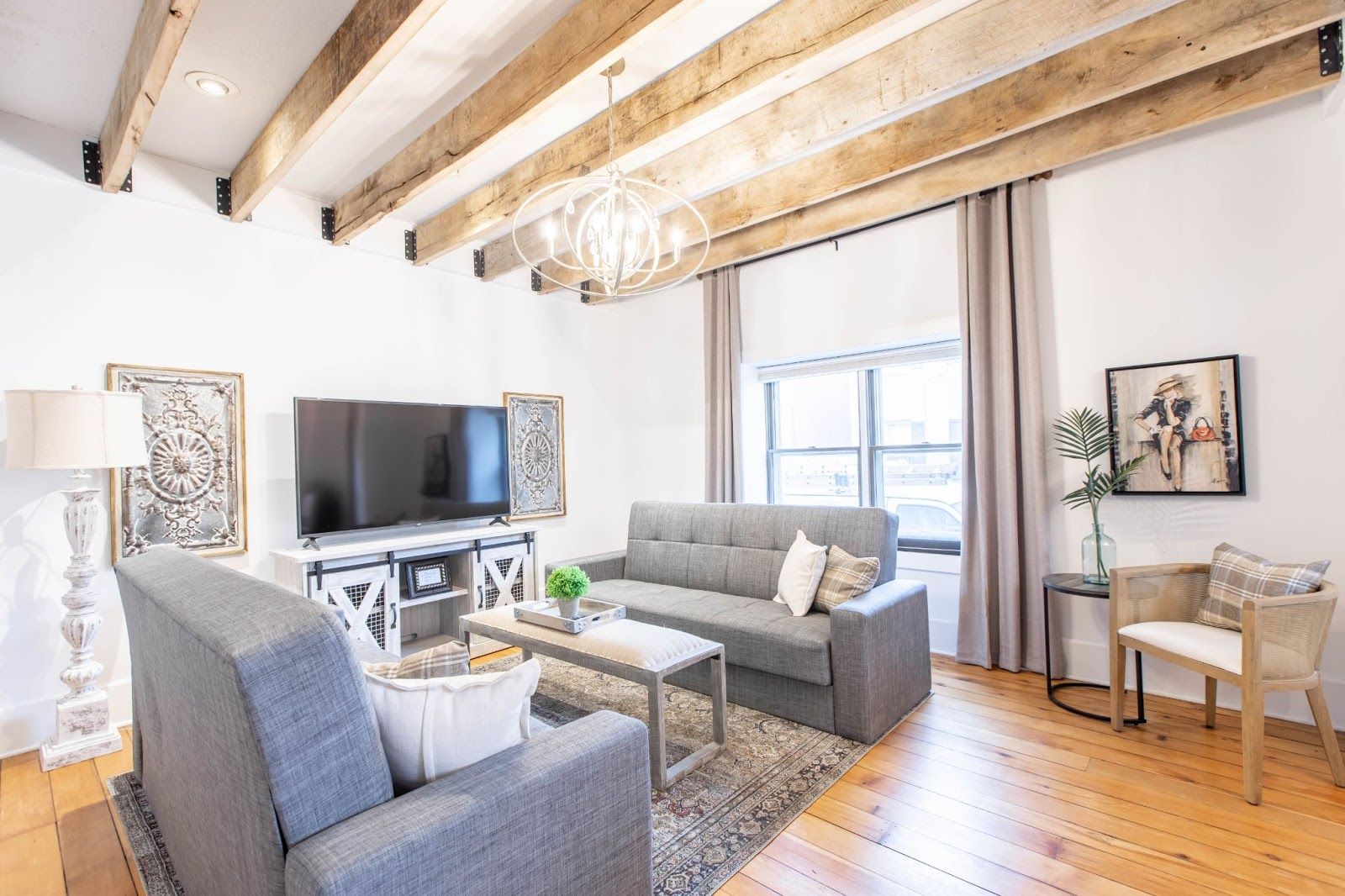 How To Lighten Dark Stained Wood Beams