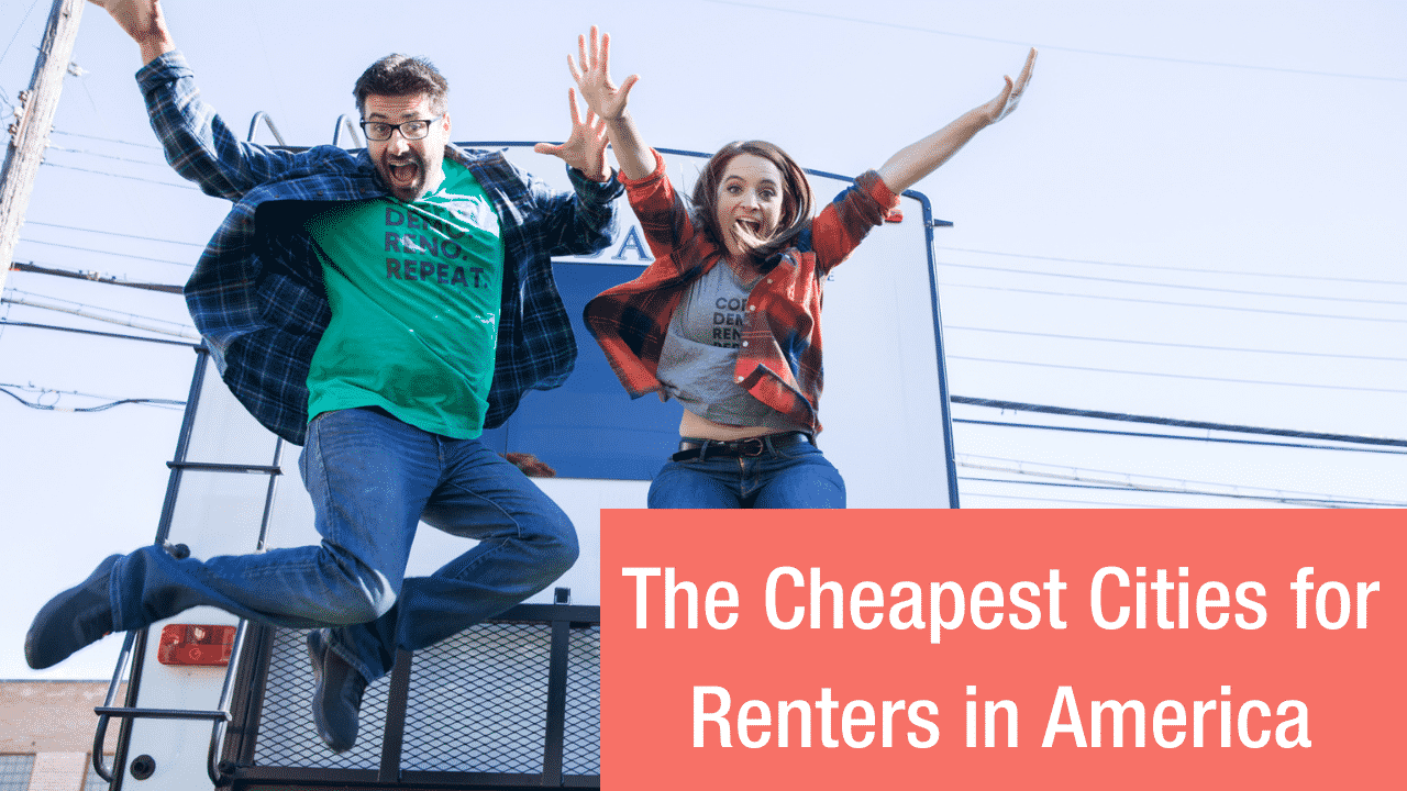 the cheapest cities for renters in America