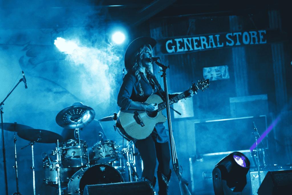 a concert in Plano, Texas