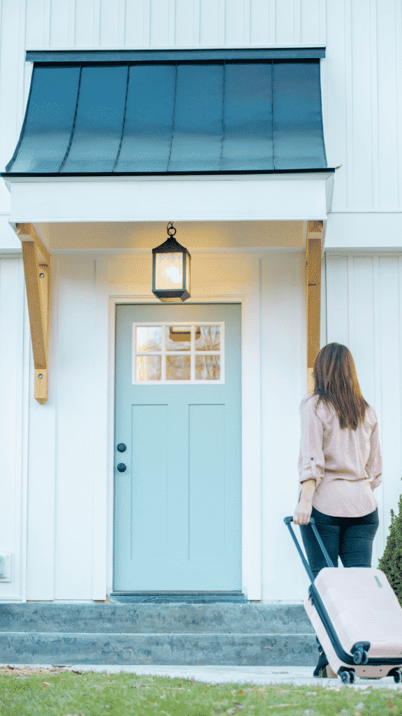 moving in to your first home