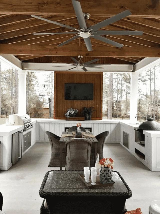 Outdoor Kitchen Build