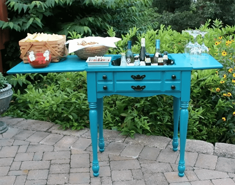 Sewing Cabinet Outdoor Kitchen Bar