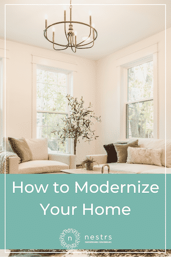 How to Modernize Your Home Pinterest 2