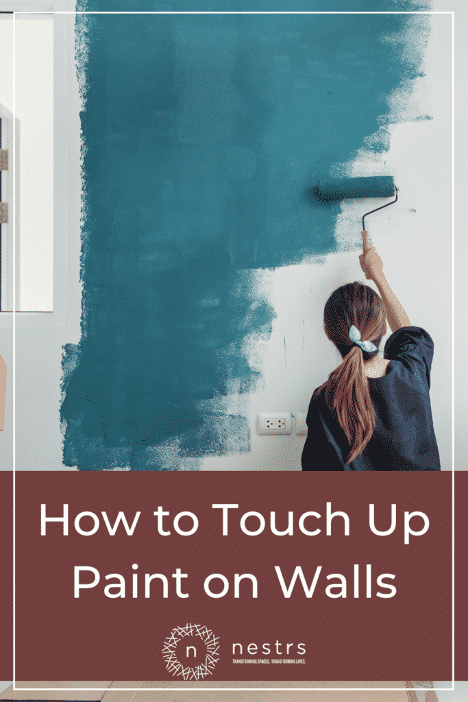 how to touch up paint on walls